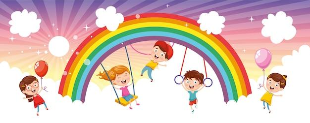 Crianças do arco-íris