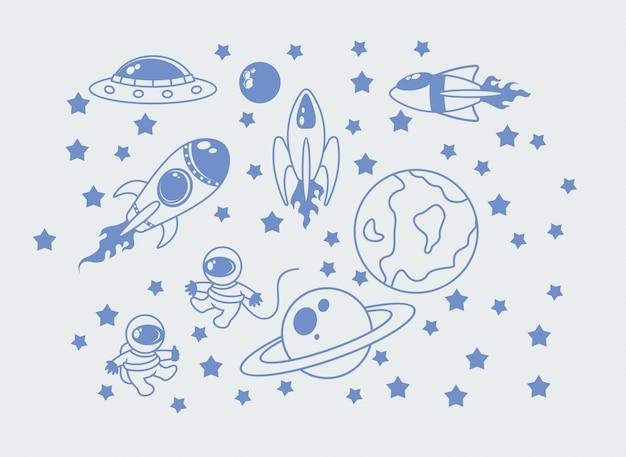 Crianças do espaço