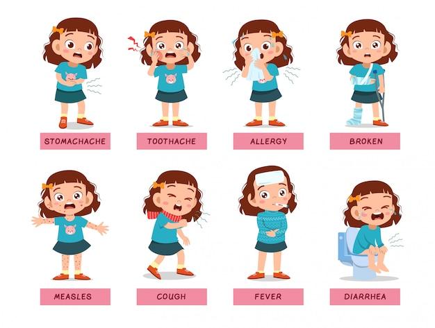Crianças enfrentam doente insalubre