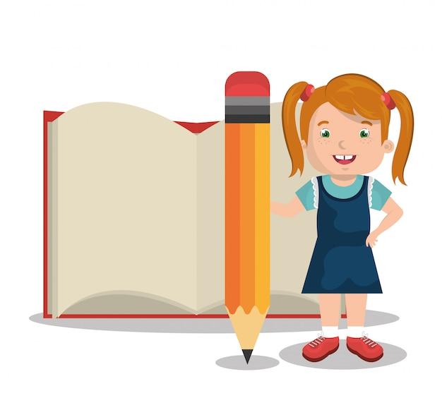 Crianças estudando