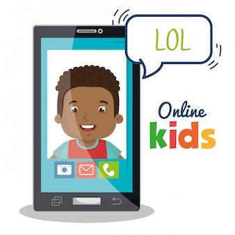 Crianças online