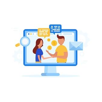 Criando ideias e fazendo um acordo