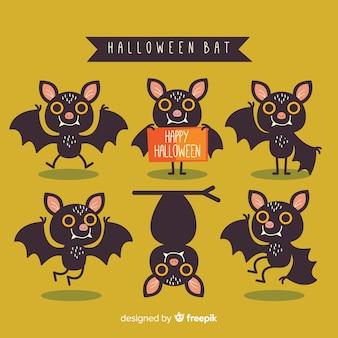 Criativo design de morcego halloween