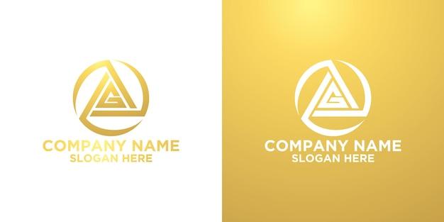 Criativo letra g logotipo desidn modelo premium