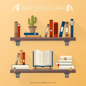 Crie a sua própria biblioteca