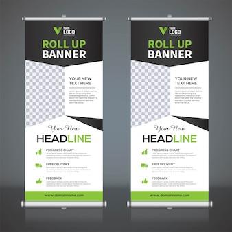 Crie modelos de design de banner