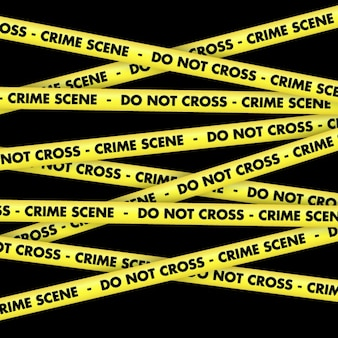 Crime scene tape fundo