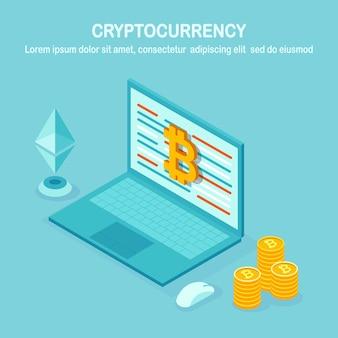 Criptomoeda e blockchain