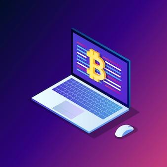 Criptomoeda e blockchain.