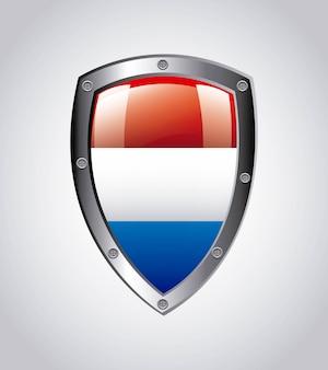 Croácia design sobre ilustração vetorial de fundo cinza