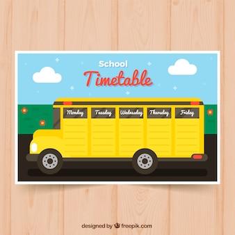 Cronograma escolar para organizar atividades