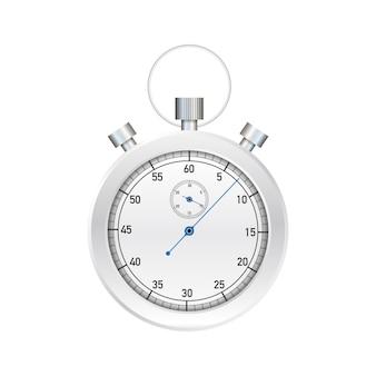 Cronômetro. antigo cronômetro mecânico. ilustração.