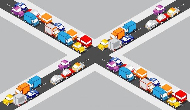 Cruzamento isometric crossroads
