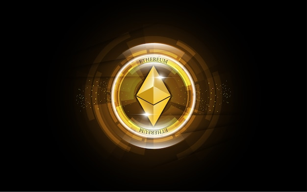 Cryptocurrency blockchain ethereum dinheiro digital