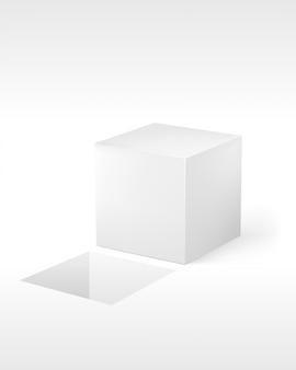 Cubo em branco