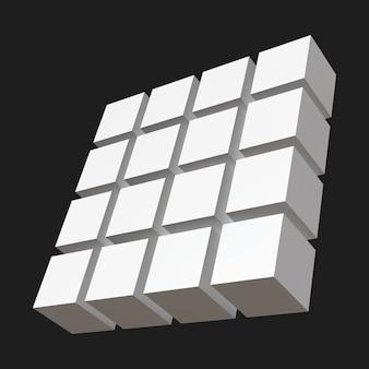 Cubos de uma linha