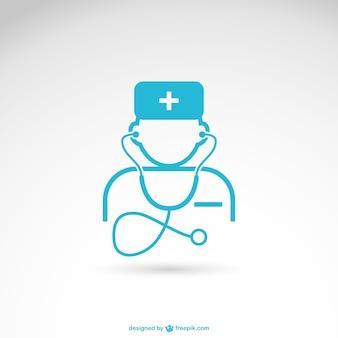 Cuidados de saúde vector profissional