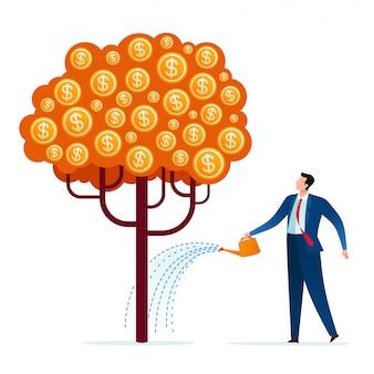 Cuidando da árvore de negócios