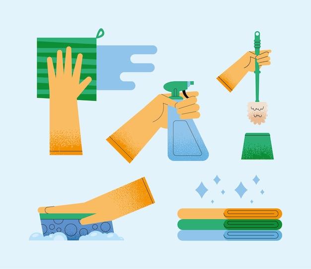 Cuidando de cinco ícones domésticos