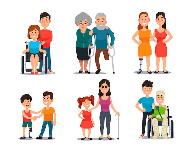 Cuidar de pessoa com deficiência
