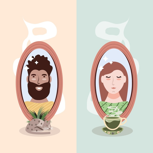 Cuidar sozinho de casal