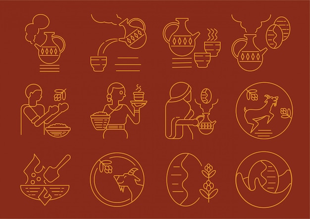 Cultura do café local etíope