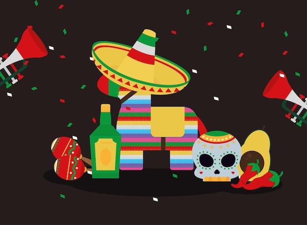 Cultura mexicana de celebração