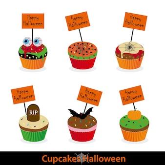 Cupcakes dia das bruxas