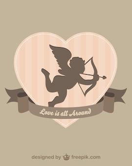 Cupido silhueta
