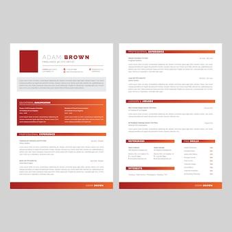 Currículo / cv (2 páginas)
