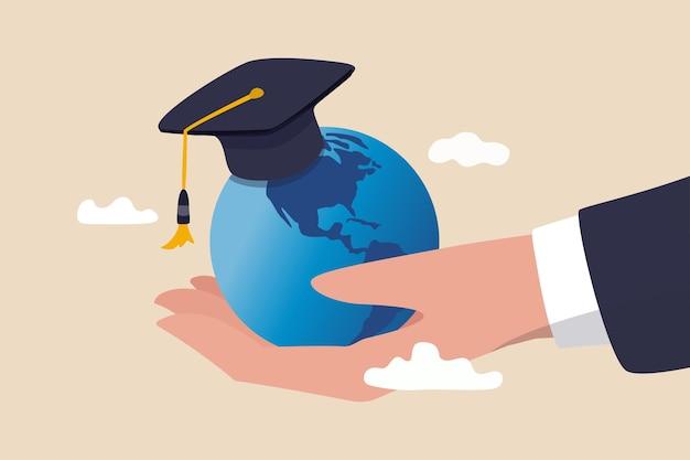 Currículo de educação mundial no exterior