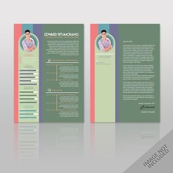 Currículo edward graphic designer a4