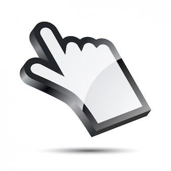 Cursor da mão