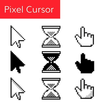 Cursor do mouse de pixel