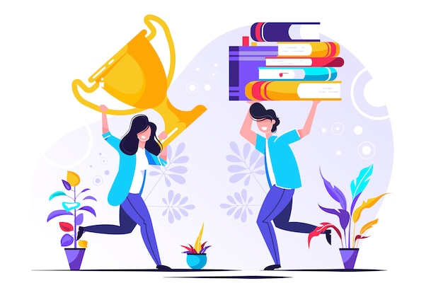 Cursos e negócios on-line, educação, livros on-line