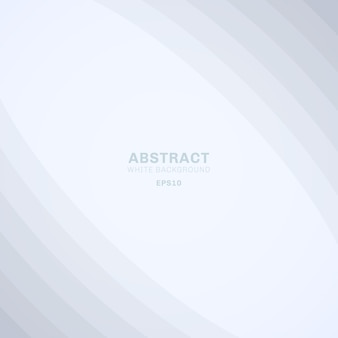 Curva abstrata linhas elegantes fundo branco