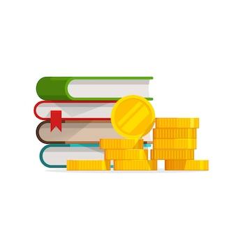 Custo do conhecimento de graduação ou educação cara ou empréstimo de bolsa de estudos