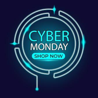 Cyber segunda-feira luz