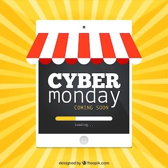 Cyber segunda feira tablet