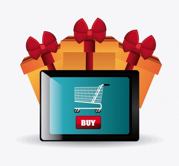 Cyber segunda-feira temporada de compras