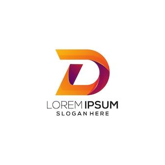 D logo colorfull