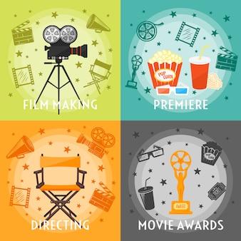 Da produção de filmes ao conceito de prêmios