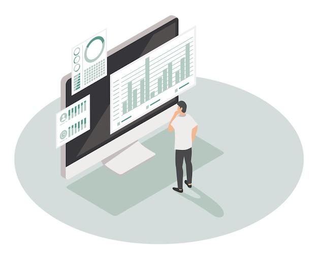 Dados analíticos em desktop