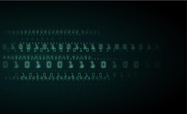 Dados binários e código binário de streaming