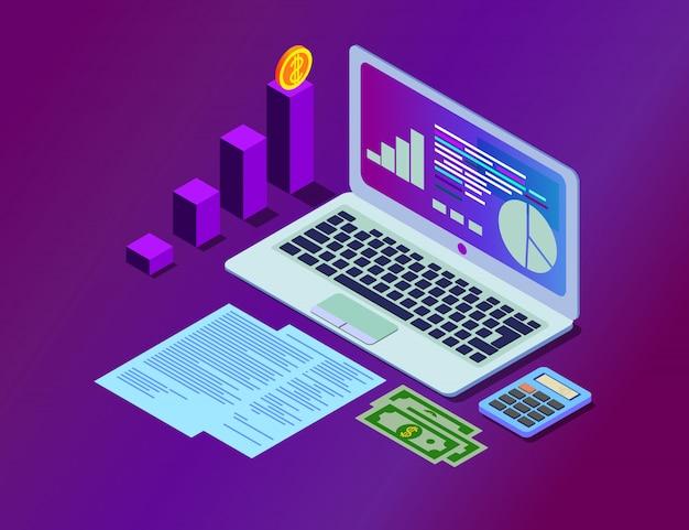 Dados de análise e investimento