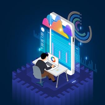 Dados de análise móveis