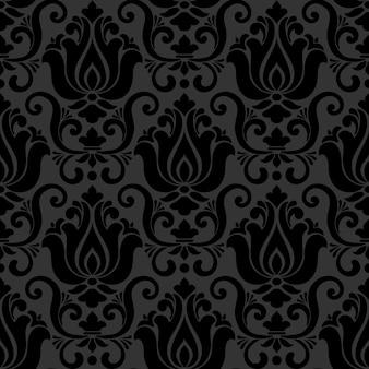 Damasco estilo ornamental padrão
