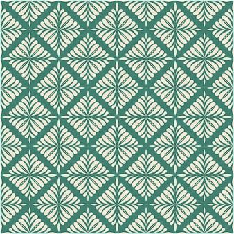 Damasco padrão sem emenda com ornamento
