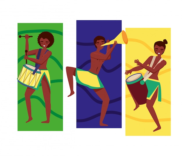 Dançarina brasileira