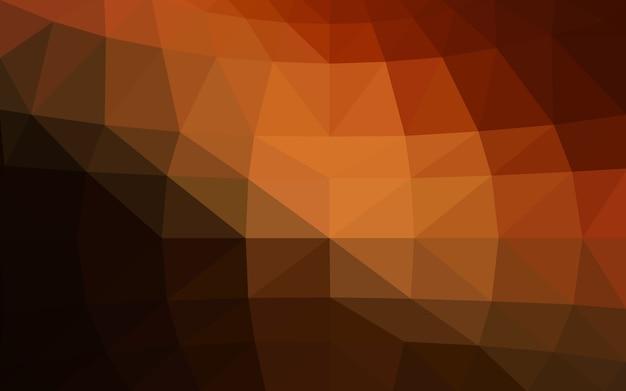 Dark red vector fundo de cristal de baixo poli
